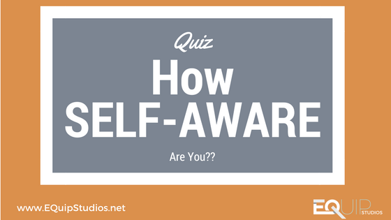 Just how self-aware are you and why does it matter!? Take this short quiz and find out!